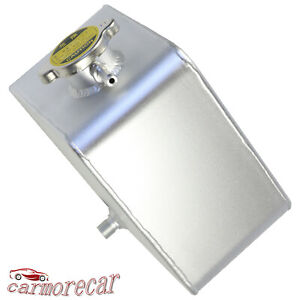 2 5l Universal Coolant Radiator Overflow Recovery Water Tank Bottle Aluminum
