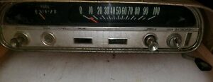 1960 1964 Corvair Dash Gauges Instrument Cluster Panel Speedometer With Shifter