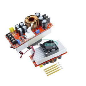 1500w 30a Step Up Constant Current Dc dc Boost Converter Power Supply Module