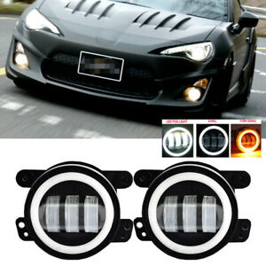 For Scion Fr s 12 16 Clear Lens Pair Bumper Fog Light Lamp Oe Replacement Dot