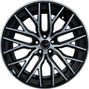 4 Gwg Wheels 20 Inch Staggered Black Flare Rims Fits Mazda Rx 8 Base automatic