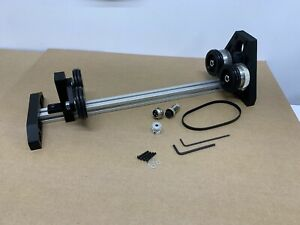 Kit Co2 Laser Adjustable Rotary Engraver Cutter Attachment No Stepper Motor