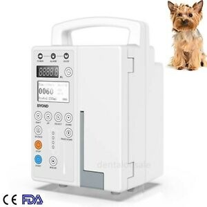 Fda Veterinary Vet Infusion Pump Iv Fluid Infusion With Audible