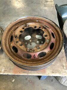 Porsche 356 Pre A Wheel 16 Inch Partial Mark Sudrad No Date