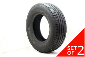 Set Of 2 Used 265 70r17 Michelin X Lt A S 115t 7 5 32