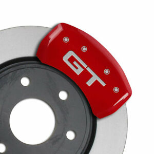 Mgp Caliper Covers Rear Gt Engraving For 2015 Ford Mustang Gt red