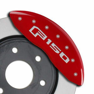 Mgp Caliper Covers 4pc f150 Engraved For 2015 2020 Ford F 150 red