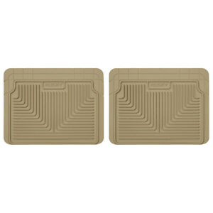 Husky Heavy Duty Tan Floor Mats Hus0705 2nd 3rd Row Semi universal