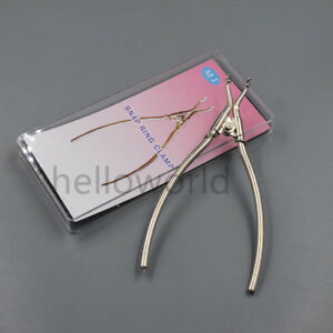 2 dental Delta Snap Clamp Ring Plier Sectional Contoured Matrices Matrix Forceps