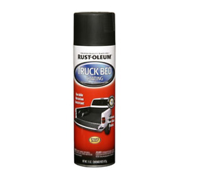 Truck Bed Coating Spray Paint Automotive Protect Trailer Liner Stops Rust 15 Oz