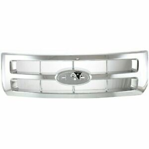 New Chrome Grille For 2008 2009 2010 2011 2012 Ford Escape Fo1200488 Ships Today