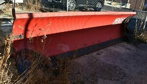 Boss 9 Super Tripedge Plow Blade Skidsteer Attachment Hyd Turning