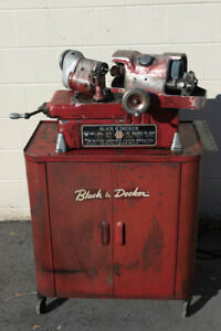 Black And Decker 11 16 Valve Grinder Refacer With Stand