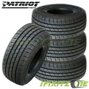 4 Patriot H t Lt245 75r16 10 ply 120 116s All Season Tires For Suv Pickup Truck