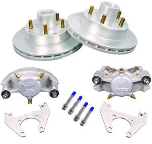 Kodiak Boat Trailer Integral Hydraulic Disc Brake Set Dac 5 Bolt 3500 Lb Axle