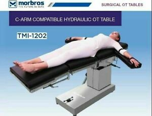 C arm Compatible Hydraulic Ot Table Ot Table Operation Theater Surgical Table