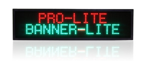 Pro lite Red green Led Programmable Scrolling Message Sign Display 42 x11