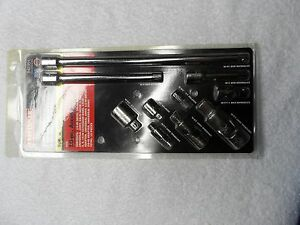 Craftsman 1 4 3 8 1 2 Drive Extensions Adapters Joints Usa Nos P N 42351