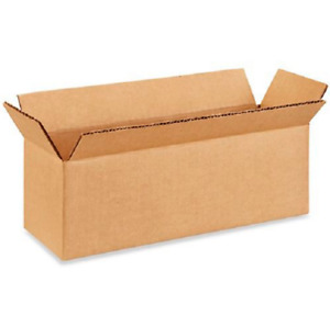 25 12x4x4 Cardboard Paper Boxes Mailing Packing Shipping Box Corrugated Carton