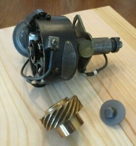 Oem 1941 1948 Cadillac Distributor Delco Remy 1116030 With Bronze Gear