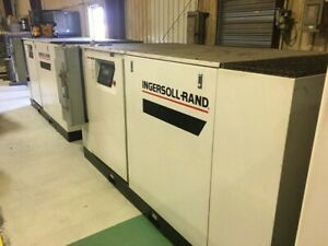 Ingersoll Rand 100hp Air Compressor Ssr ep100 Only 13000 Loaded Hours