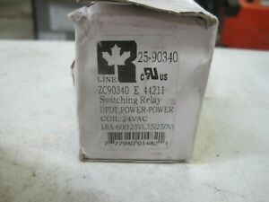 Relay Dpdt 24vac Coil Power Duty All Rline Zc90340 01 24vac Switching Relay