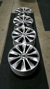20 Mercedes Gle 350 Oem Wheels 20x8 5 Staggered Offsets 5x112 500 Miles