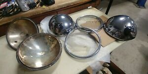 Vintage Dietz Twolite Headlamp Assembly Set 10 Usa Ny
