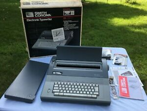 Smith Corona Electronic Typewriter Sl570 Spell right Correction Auto Functions