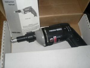 Porter Cable Hd Reversing Variable Speed Drywall Gun 2640 Used One Time