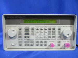 Agilent Hp Keysight 8648c Synthesized Rf Signal Generator 100 Khz To 3 2 Ghz
