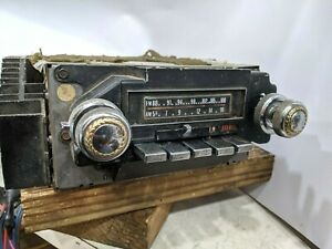 1972 Cadillac 1971 1973 Am Fm Radio Stereo 8 Track Eight Track Working Tested