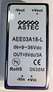 Isolated Dc dc Converters 15w 9 36vin P n Aee03a18 l