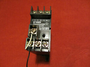 2 X Ac To Dc Voltage Transducer transformer With Adjustable Dc Output