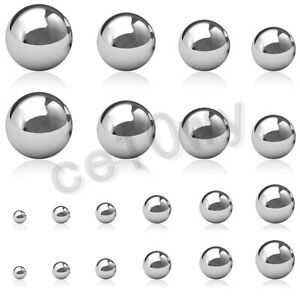 304 Stainless Steel Ball Dia 1mm 100mm High Precision Bearing Balls Smooth Ball