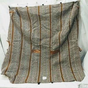 Brown Saddle Blanket Mini Truck Minitruck 1piece Bench Seat Cover Wo Head Rests