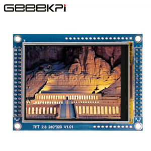 Geeekpi Lcd Module Tft 2 8 Inch 320x240 Touch Screen Display Module For Rpi 4b