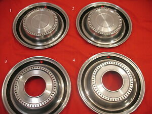 Set Of 4 70 S International Scout Hubcaps