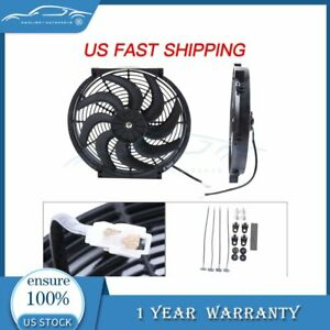 14 Inch Electric Radiator Cooling Fan For Toyota Prius Sienna 12v 3000cfm 2x