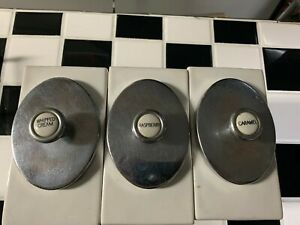 Antique vintage Drugstore Ice Cream Topping Dispensers 1950 s