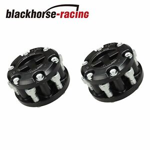 Pair Of Locking Hubs For Isuzu Rodeo Trooper Amigo 1993 1994 1998 1999