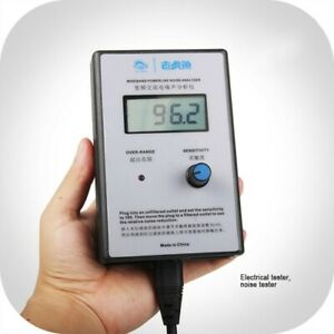 Ac Noise Analyzer Emi Meter Ac Noise Meter With Lcd Display Power Cord Tpys