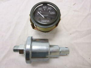 Willys Jeep M38 M38a1 G758 Dodge Truck M37 G741 24 Volt 0 120 Oil Gauge