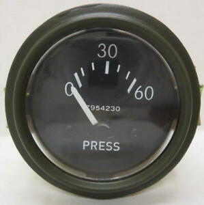 Willys Jeep M38 M38a1 G758 Dodge Truck M37 G741 24 Volt 0 60 Oil Pressure Gauge
