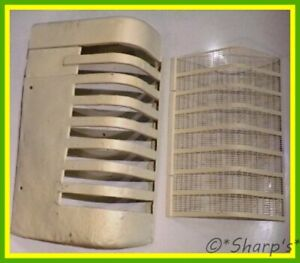 Aa2238r A2111r John Deere A Grille With New Screen Right Hand Project Grill