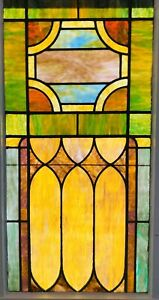 Stained Glass Window Authentic Antique Window Stuinning Solid 2