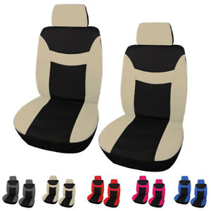 Auto Front Seat Covers And Headreset For Car Truck Suv Van Universal Protector