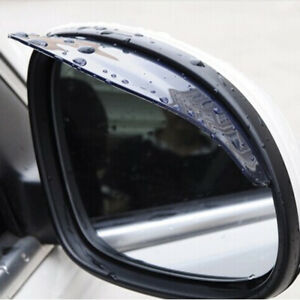 2x Car Rear View Side Mirror Rain Board Eyebrow Guard Sun Visor Accessories Cjk