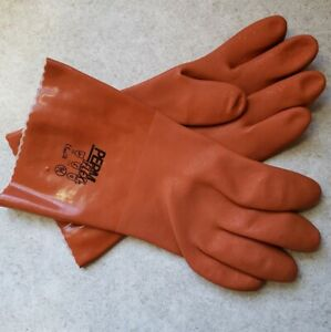 58 8651 Permflex Cold Resistant Pvc Gloves Seamless Liner Rough Coating 12 Pair