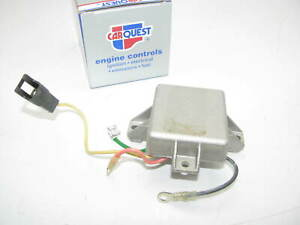Carquest Vr437 Voltage Regulator Universal Mount 12v 4 Terminal